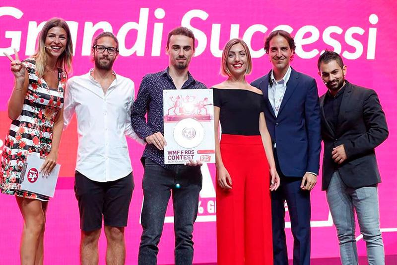 Realizzazione Premio Disco per i WMF e RDS Contest